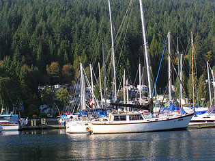 Boats in Deep Cove Harbour