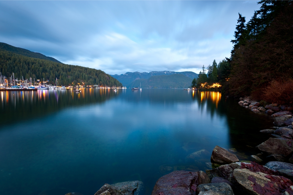 Deep Cove Panorama